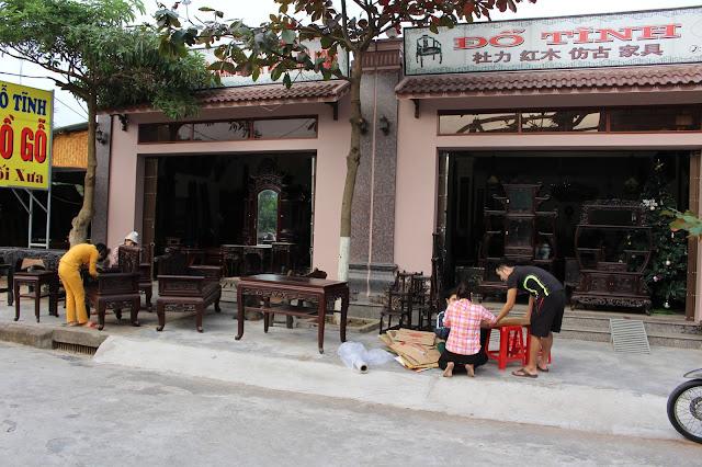 Đồ gỗ Đỗ Tĩnh - Làng nghề 1 Hải Minh, Nam Định