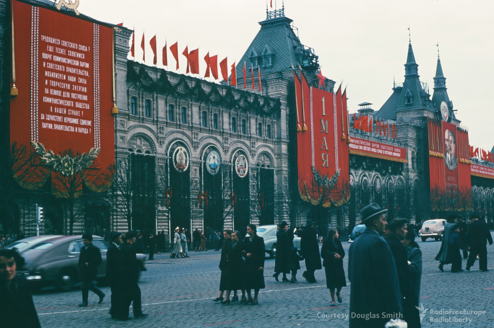 Vivid Color Photographs Of Life In The Soviet Union In The