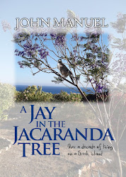 The new book - A Jay in the Jacaranda Tree