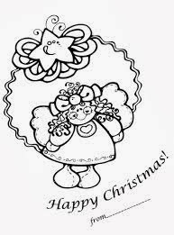 Cute Christmas Coloring Pages 4