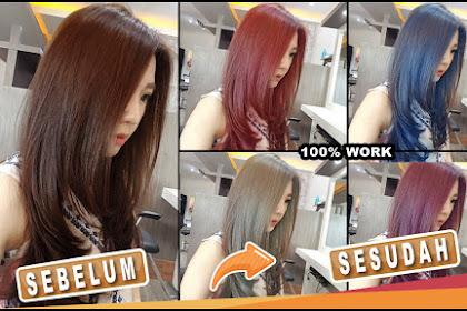 Cara Merubah Warna Rambut pada Foto di Adobe Photoshop