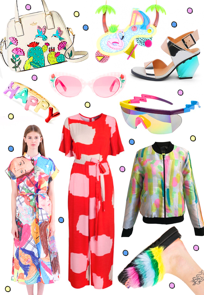wish list, shopping, blogger, max jenny, mister zimi, ziztar, la vidiriola, flamingo, jumpsuit, spring, fashion, style, united nude, Kate Spade, Poppy Lissiman