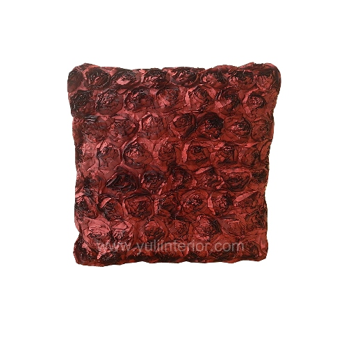 "24"" Rosette Throw Pillow, Nigeria"