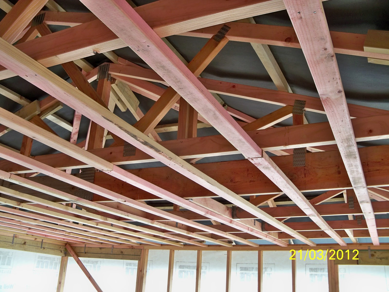 Carpentry Pretrade By Kees Roof Trusses And Purlins