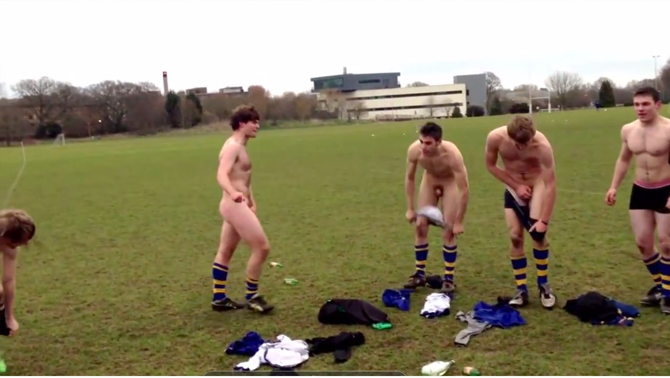 nude football team