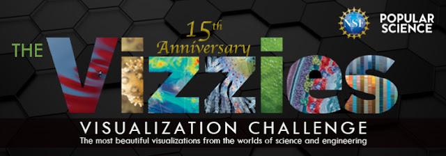 Logo del 15º Aniversario del Certamen Vizzies
