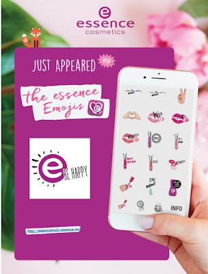 Aplicación de emojis de essence