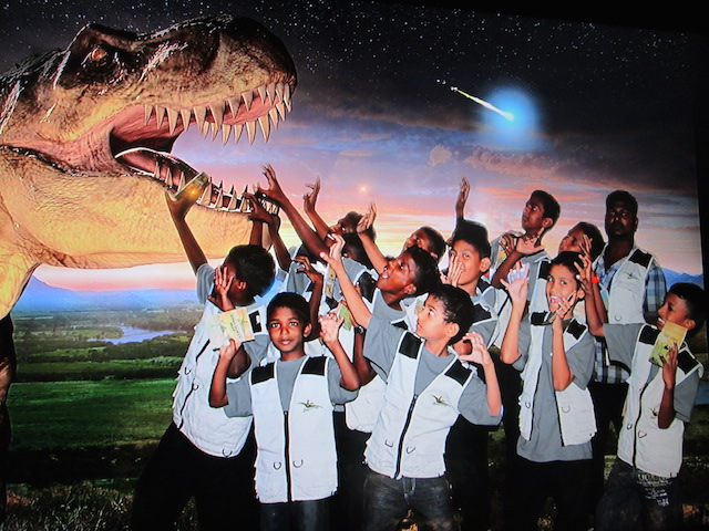 EMS Discoveria & Avenue K Treat 100 Children To Dino Exhibition This Ramadan
