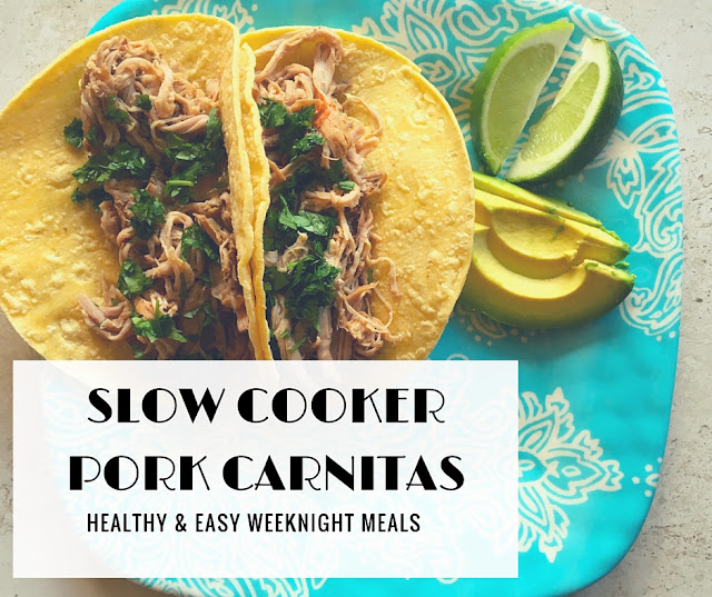 June Favorites: Slow Cooker Pork Carnitas
