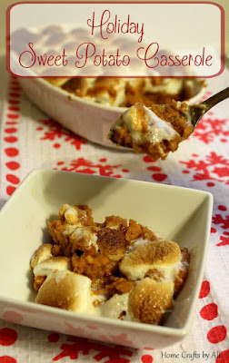 Home Crafts by Ali 2015 recipe sweet potato casserole