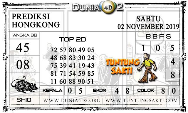 """Prediksi Togel """"HONGKONG"""" DUNIA4D2 02 NOVEMBER 2019"""