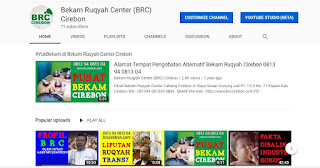 video youtube bekam ruqyah cirebon