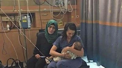 ممرضة إسرائيلية أرضعت طفلًا فلسطينيًا من الخليل توفي والدة في حادث سير