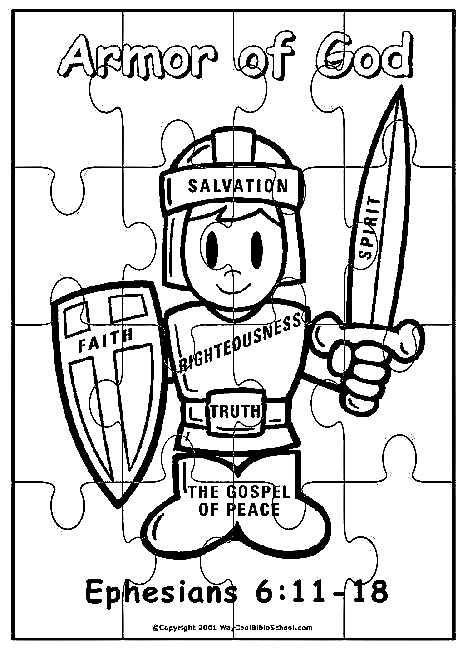 armor coloring pages | Faith Lights The Way