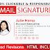 Clickable Html Email Signature