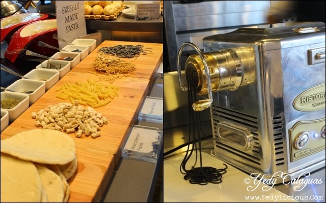 make Your Own Pasta at Vikings Buffet SM Megamall