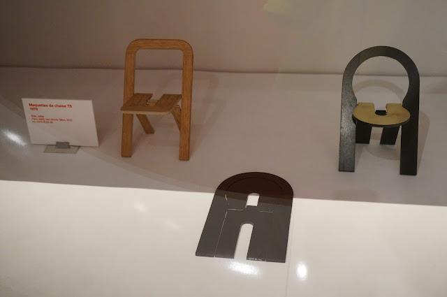 Maquette de chaise TS - 1978 Roger Tallon