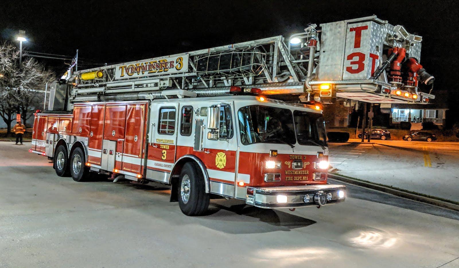 Dayhoff Soundtrack: Tower 3 Westminster Fire Engine & Hose Co  No  1