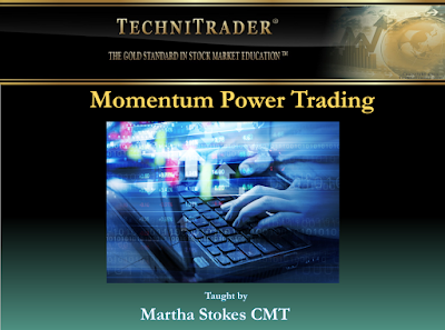 screen shot of momentum power trading webinar - technitrader