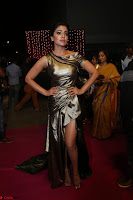 Shreya Saran in Skin Tight Golden Gown ~  Exclusive 047.JPG