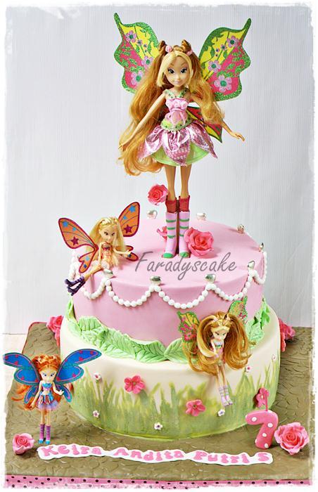 Cake Design Winx Bloomix