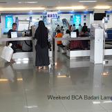 Weekend BCA !!!! Lokasi Weekend Banking BCA Badarl Lampung