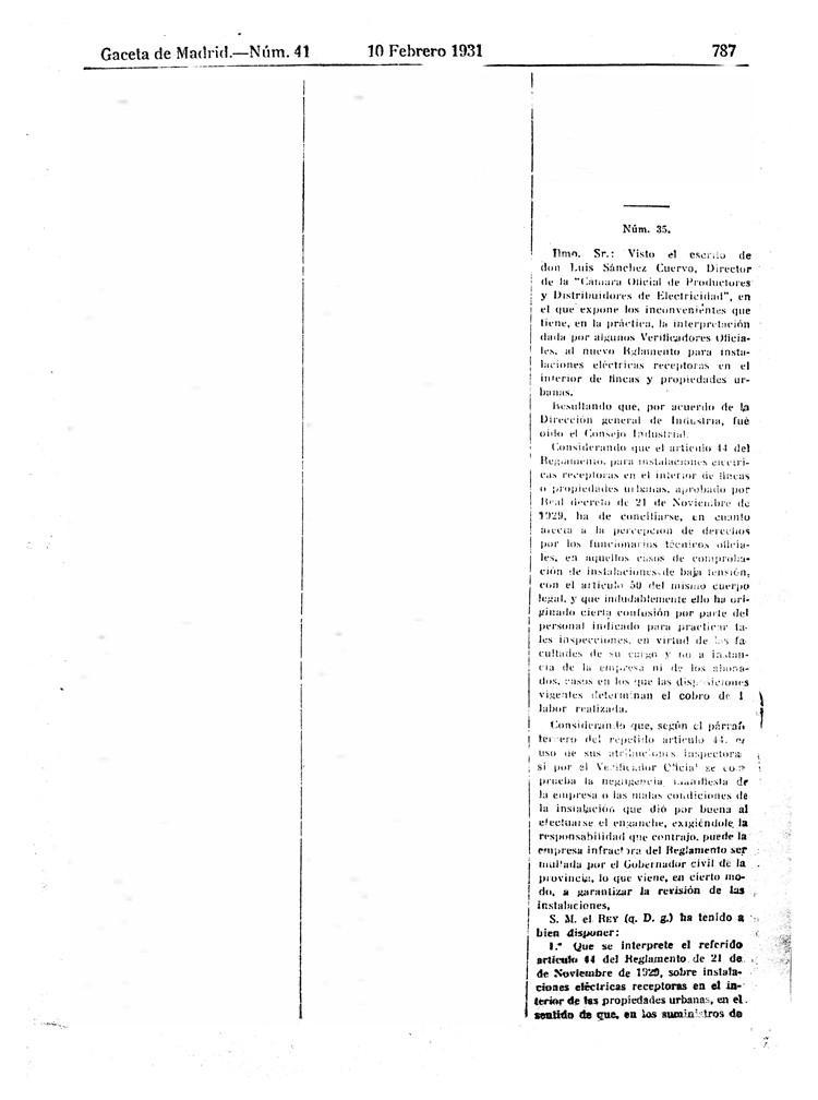 reglamento instalaciones electricas receptoras 1930 - 08