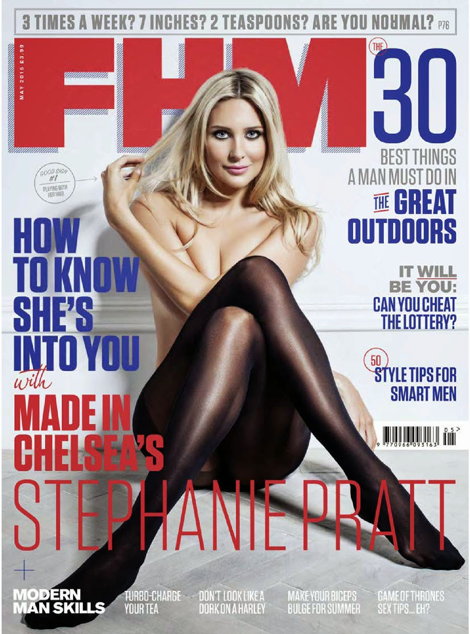 Stephanie Pratt Does FHM!