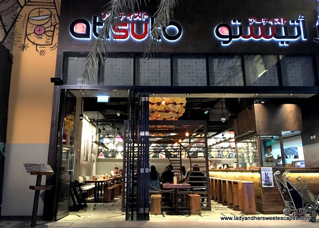 Atisuto Japanese restaurant Dubai