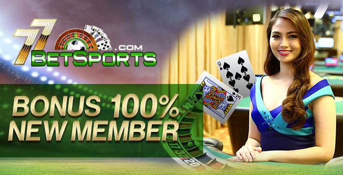 Promo bonus deposit 100%