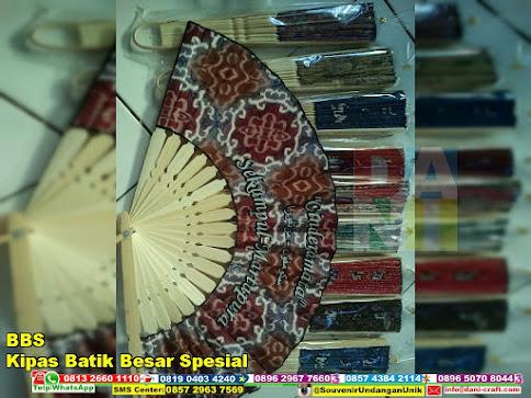 jual Kipas Batik Besar Spesial