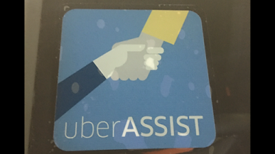 uberassist car decal