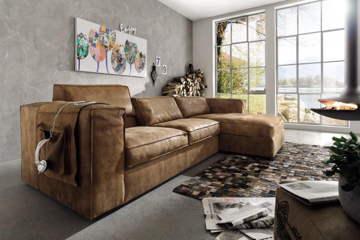 wohnzimmer couch leder - Home Creation
