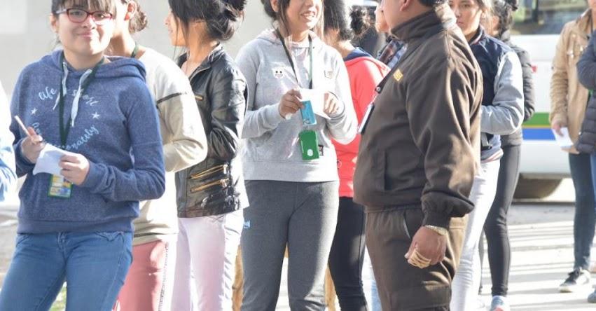 UNCP: Más 6 mil postularán al Examen de Admisión Primera Selección este Domingo 2 de Diciembre en la Universidad Nacional del Centro del Perú - www.uncp.edu.pe