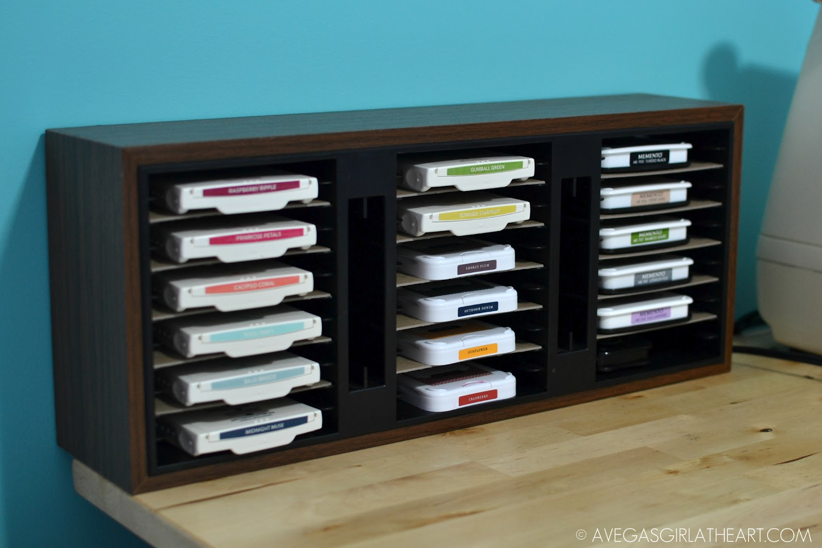 A Vegas Girl At Heart Inexpensive Ink Pad Storage