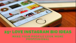 25+ Love Instagram bio ideas
