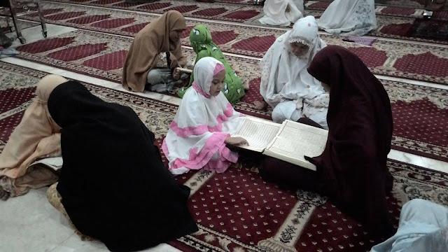 muslimah ngajar ngaji