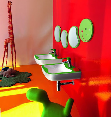 colorful kids bathroom decor ideas furniture accessories themes 2019