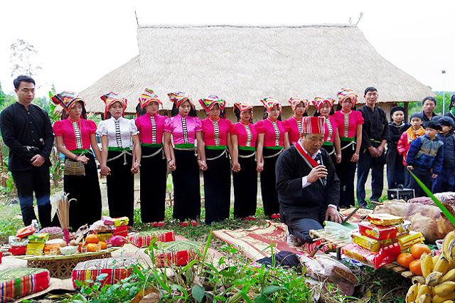 Rain Festival of the Thai in Mai Chau