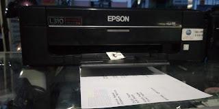printer bekas epson L310 di kota malang