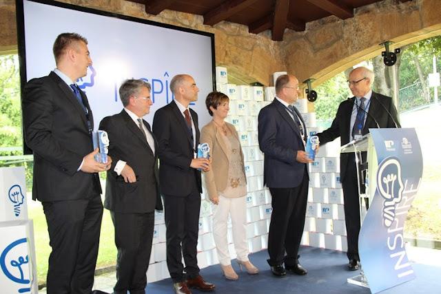 Gaiker, Ikerlan y el CFM, ganadores del programa Inspîre