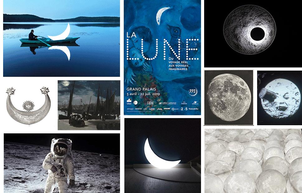 La lune : du voyage réel aux voyages imaginaires, au Grand palais