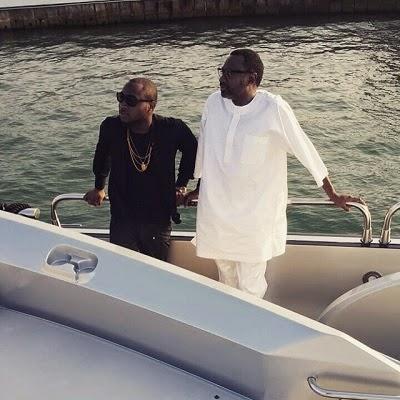 davido femi otedola boat cruise