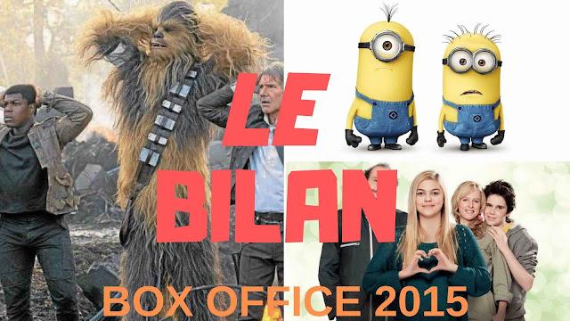 Bilan du box office France de l'année 2015