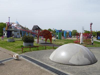 深北緑地公園 ロケット広場