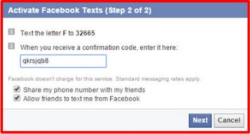 login to facebook with phone number