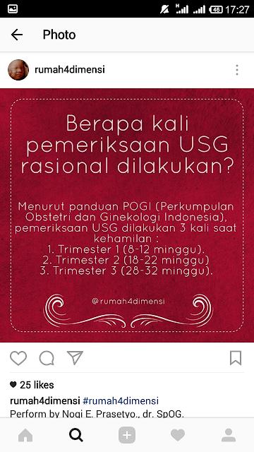 Pengalaman USG di Cimahi
