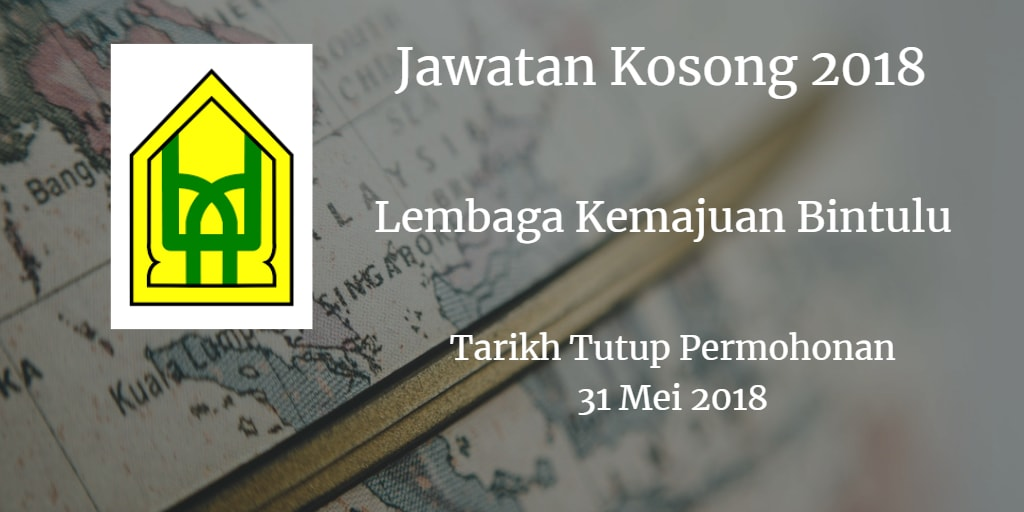 Jawatan Kosong BDA 31 Mei 2018