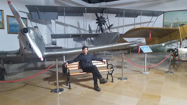 Harun İstenci İstanbul Havacılık Müzesinde
