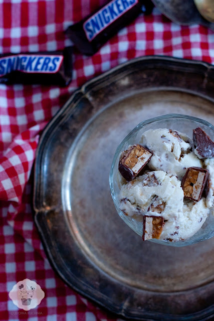 lody snickers, ice cream snickers